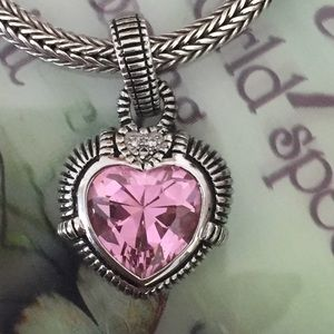 PRETTY PINK Heart Enhancer 925